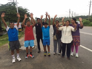 Group run of 3.2k on 22nd Aug 2015